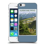 Official Lantern Press National Park Hurricane Ridge Hard Back Case For Apple Iphone 5 / 5S / Se