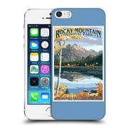Official Lantern Press National Park Rocky Mountain Hard Back Case For Apple Iphone 5 / 5S / Se
