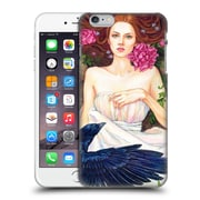 Official Jane Starr Weils Goddess 2 Crow And Pink Peonies Hard Back Case For Apple Iphone 6 Plus / 6S Plus