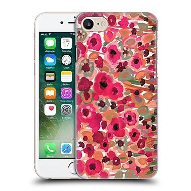 Official Natasha Wescoat Florals Magenta Hard Back Case For Apple Iphone 7
