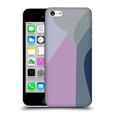 Official Magdalena Hristova Clean Lines 2 Lilac 2 Hard Back Case For Apple Iphone 5C