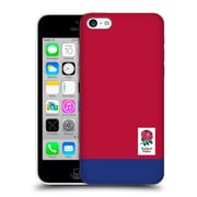 Official England Rugby Union 2016/17 The Rose Colour Block Hard Back Case For Apple Iphone 5C