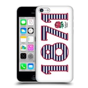 Official England Rugby Union 2016/17 The Rose 1871 Landscape Hard Back Case For Apple Iphone 5C