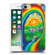 Official Drew Brophy Surf Art Rainbow Ride Hard Back Case For Apple Iphone 7