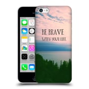 Official Olivia Joy Stclaire Typography Be Brave With Your Life Hard Back Case For Apple Iphone 5C