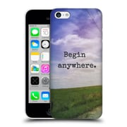 Official Olivia Joy Stclaire Typography Begin Anywhere Hard Back Case For Apple Iphone 5C