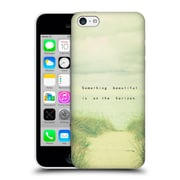 Official Olivia Joy Stclaire Typography Something Beautiful Is On The Horizon Hard Back Case For Apple Iphone 5C