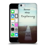 Official Olivia Joy Stclaire Typography Never Stop Exploring Hard Back Case For Apple Iphone 5C