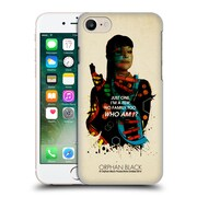 Official Orphan Black Who Am I Alison Helix Hard Back Case For Apple Iphone 7