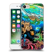 Official Drew Brophy Surf Art Deep Into Paradise Hard Back Case For Apple Iphone 7