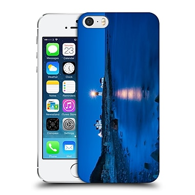 Official Michael Blanchette Lighthouses Star Beacon Hard Back Case For Apple Iphone 5 / 5S / Se