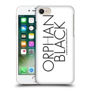 Official Orphan Black Logo & Helix Black Logo Hard Back Case For Apple Iphone 7