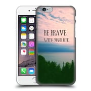 Official Olivia Joy Stclaire Typography Be Brave With Your Life Hard Back Case For Apple Iphone 6 / 6S