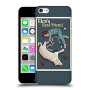 Official Lantern Press Man Cave Man'S Bestfriend Hard Back Case For Apple Iphone 5C