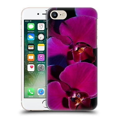 Official Elena Kulikova Orchids Purple Hard Back Case For Apple Iphone 7