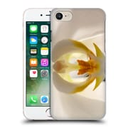Official Elena Kulikova Orchids White 1 Hard Back Case For Apple Iphone 7