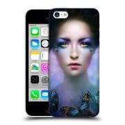 Official Melanie Delon Fairies Orchid Hard Back Case For Apple Iphone 5C