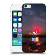 Official Michael Blanchette Lighthouses Nubble Night Hard Back Case For Apple Iphone 5 / 5S / Se