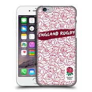 Official England Rugby Union 2016/17 Patterns Red Outline Rose Hard Back Case For Apple Iphone 6 / 6S