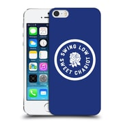 Official England Rugby Union 2016/17 The Rose Swing Low, Sweet Chariot Hard Back Case For Apple Iphone 5 / 5S / Se