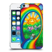 Official Drew Brophy Surf Art Rainbow Ride Hard Back Case For Apple Iphone 5 / 5S / Se