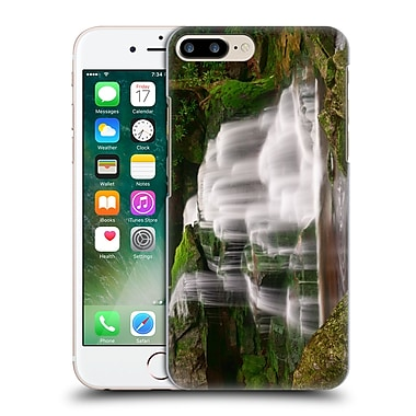 Official Michael Blanchette Appalachians Moss On The Rocks At Elakala Falls Hard Back Case For Apple Iphone 7 Plus