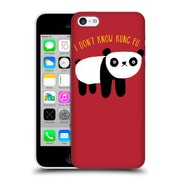 Official Dinomike Fun Illustrations Regular Panda Hard Back Case For Apple Iphone 5C