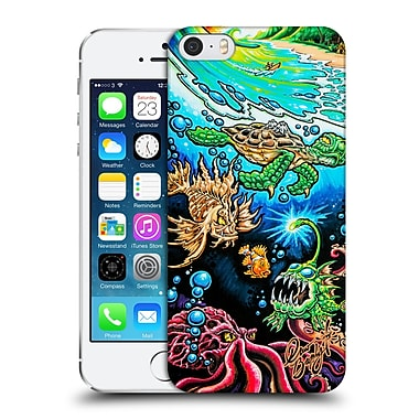 Official Drew Brophy Surf Art Deep Into Paradise Hard Back Case For Apple Iphone 5 / 5S / Se