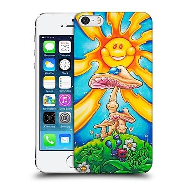 Official Drew Brophy Surf Art Happy Mushrooms Hard Back Case For Apple Iphone 5 / 5S / Se