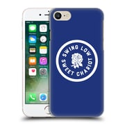 Official England Rugby Union 2016/17 The Rose Swing Low, Sweet Chariot Hard Back Case For Apple Iphone 7