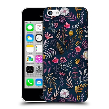 Official Oilikki Patterns Floral Hard Back Case For Apple Iphone 5C