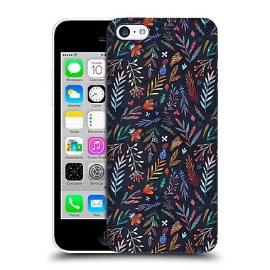 Official Oilikki Patterns Flowers Hard Back Case For Apple Iphone 5C
