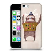 Official Oilikki Sloth Christmas Hard Back Case For Apple Iphone 5C
