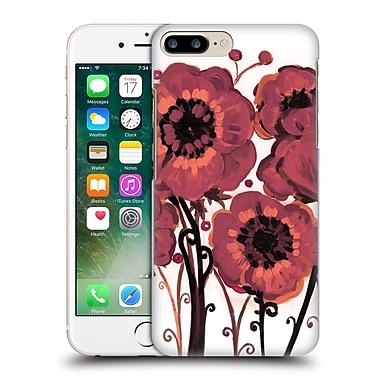 Official Natasha Wescoat Florals Marsala Hard Back Case For Apple Iphone 7 Plus
