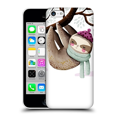 Official Oilikki Sloth Lazy Hard Back Case For Apple Iphone 5C
