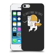 Official Dinomike Fun Illustrations Space Sucks Hard Back Case For Apple Iphone 5 / 5S / Se