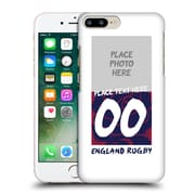 Custom Customised Personalised England Rugby Union 2016/17 1871 Design Hard Back Case For Apple Iphone 7 Plus