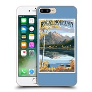 Official Lantern Press National Park Rocky Mountain Hard Back Case For Apple Iphone 7 Plus