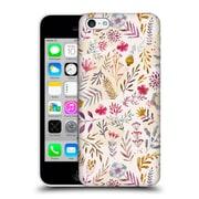 Official Oilikki Patterns Floral Light Hard Back Case For Apple Iphone 5C