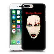 Official Marilyn Manson Key Art Big Face Red Lips Hard Back Case For Apple Iphone 7 Plus