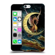 Official Myles Pinkney Art Moon Dragon Hard Back Case For Apple Iphone 5C