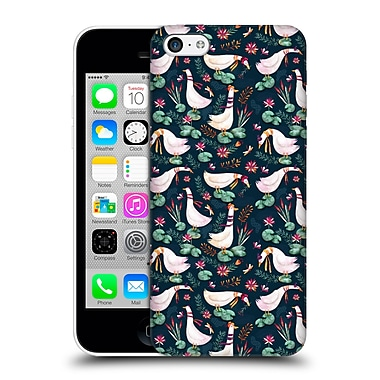 Official Oilikki Animal Patterns Geese Hard Back Case For Apple Iphone 5C