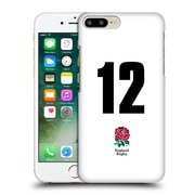 Official England Rugby Union 2016/17 Home Kit Position 12 Hard Back Case For Apple Iphone 7 Plus