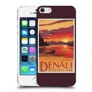 Official Lantern Press National Park Denali Hard Back Case For Apple Iphone 5 / 5S / Se
