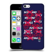Official England Rugby Union 2016 Unbeaten Unbeatable Year Hard Back Case For Apple Iphone 5C