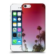 Official Elena Kulikova Tropical Palm Tree Skyline Hard Back Case For Apple Iphone 5 / 5S / Se