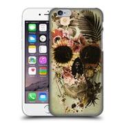 Official Ali Gulec The Message Garden Skull Light Hard Back Case For Apple Iphone 6 / 6S