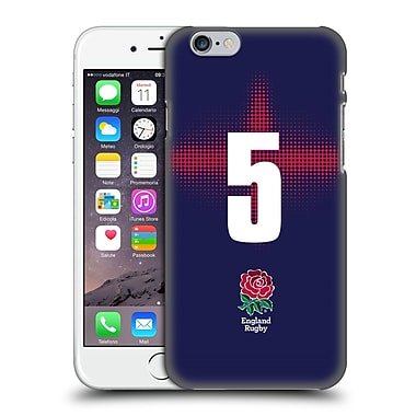 Official England Rugby Union 2016/17 Alternate Kit Position 5 Hard Back Case For Apple Iphone 6 / 6S