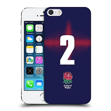 Official England Rugby Union 2016/17 Alternate Kit Position 2 Hard Back Case For Apple Iphone 5 / 5S / Se
