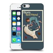 Official Lantern Press Man Cave Man'S Bestfriend Hard Back Case For Apple Iphone 5 / 5S / Se